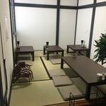 ラーメン123 - 座敷(12席)