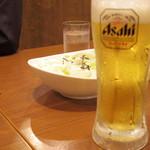 三代目 鳥メロ - 2016年9月 お代わりの生ビール