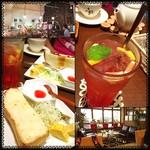 玉かふぇ - ✨Today's Breakfast ✨520yen ザクロ
