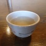 手打そば のりくら - ドリンク写真:そば茶」