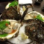 すしの助 - 岩牡蠣ポン酢 3600円
