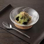 ケンゾーエステイトワイナリー - きなこアイス黒蜜を添えて ¥800-