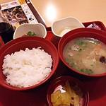 ジョイフル - 豚汁朝食390円