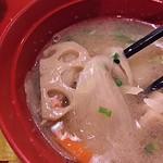 ジョイフル - 豚汁は根菜がいっぱい