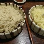 56235687 - つけそば 二種類の麺