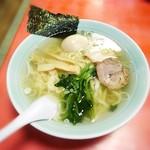 たかの - ラーメン¥630 +味玉¥110