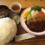 ハイジ - ジャンボ味噌カツ定食(ご飯大盛り)
