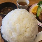 ハイジ - 大盛りご飯(1キロ)