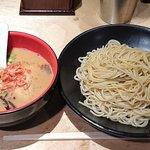 海老吟醸 じぱんぐ - じぱんぐ 上野駅前店 海老吟醸つけ麺 税込850円  麺量は並 225gで
