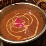 インド料理 想いの木 - 一輪への想いの南インドの海老カリー