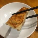 刀削麺 西安飯荘 - ジュージュー鉄鍋餃子 いただきまーす