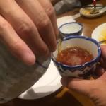 刀削麺 西安飯荘 - 中華には紹興酒ですよね