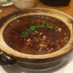 刀削麺 西安飯荘 - 牛肉の山椒風味土鍋入り