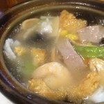 刀削麺 西安飯荘 - このおこげは美味しい 是非、オーダーしてください