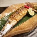禅紫 - 2016.09 秋刀魚塩焼き(650円)