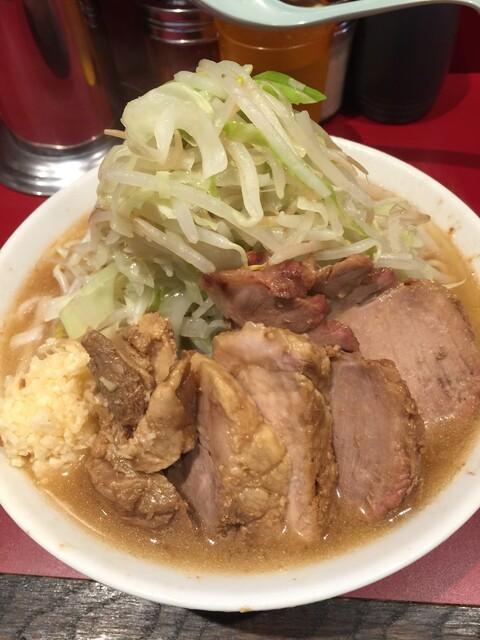 ラーメン二郎 荻窪店 - 【2016.9.7】小豚¥850