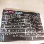 CoCo Craft - 週替わりの黒板