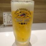 しゃにむに - 生ビール(550円)