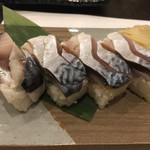 味彩 悠 - 鯖の押し寿司 小 600円