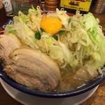 太一商店 - 太一盛りの小盛り780円 野菜をちょい足し