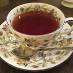 クリスティー - セットの飲み物は紅茶 #アフターヌーンセット 2016/09/11(日)訪問