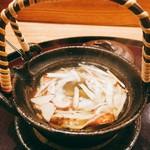 日本料理 太月 - 松茸土瓶蒸し鱧入り この松茸の量 圧巻! 2016-9