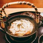日本料理 太月 - 松茸土瓶蒸し鱧入り 酢橘添え 2016-9