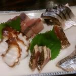 京都ハナビ - 刺身盛り合わせ