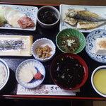 民宿さかや - 2010/10/30朝食