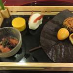 桜亭台町茶寮 - 前菜。