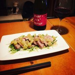 ヒナコ - 料理写真:肉料理と赤