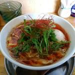 中華そば de 小松 - 酸辣湯麺(Hulu-lu麺仕様版)