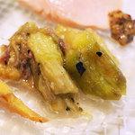 オッキオ デル ティフォーネ - 焼き茄子美味い! ヾ(≧∇≦*)/