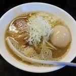 のじじ - のじじ(煮干中華そば 750円+煮卵 100円)