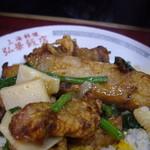 弘華飯店 - 唐揚げは  ほんのりカレー風味です!