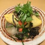モレット - 丹波地鶏と野菜の西京柚子味噌ソースオムライス は〜、長い名前…
