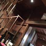 川原町屋 - 蔵の2階への階段