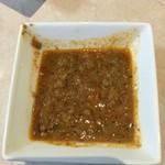 おおむら亭 - トッピングの肉味噌