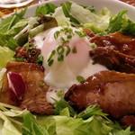 立川ビアホール - 平日のみの日替わりランチ税込680円 この日は角煮丼でした