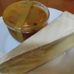 コパン・ドゥ・フロマージュ - 手前は白カビのチーズ