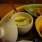 天神坂 酒亭 和らび - 茶碗蒸し