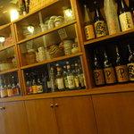 天神坂 酒亭 和らび - 焼酎はそこそこあります。