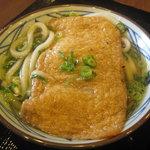 丸亀製麺 - きつねうどん(並) @400