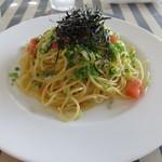 イタリア食堂トンノ - おじゃこのゆず風味スパゲッティ