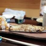 まめたん - 秋刀魚の塩焼き