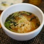 寛~くつろぎ~ - お茶漬け(スープ漬け?)