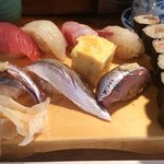 56264815 - 地魚寿司(少しアップ)