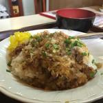 三笠 - ちゃんぽん 550円 大食いの自分には、やはり+50円して大盛りがよいかな
