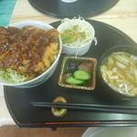 おおしも食堂 - ソースカツ丼