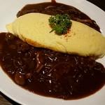 MIRAI restaurant&cafe - 肉のオムライス